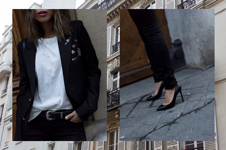 aimee_song_of_style_paris_fashion_week_saint_laurent_pants_saint_laurent_tshirt_ysl_bag_